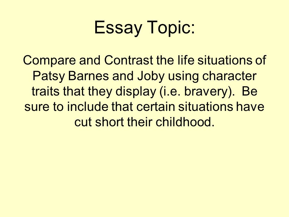 the compare contrast essay ppt video online 7 essay topic compare and contrast