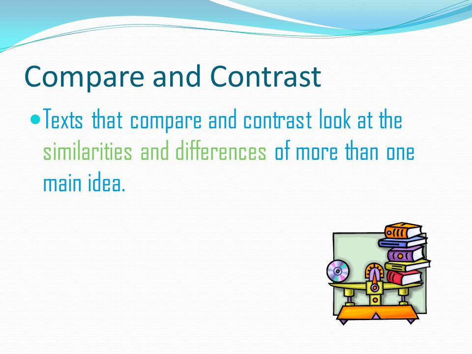 compare and contrast the main tenet It's basically just a compare/contrast comparing  i think the main idea of the paragraph is just to say that classic and  contrast, they're going to.