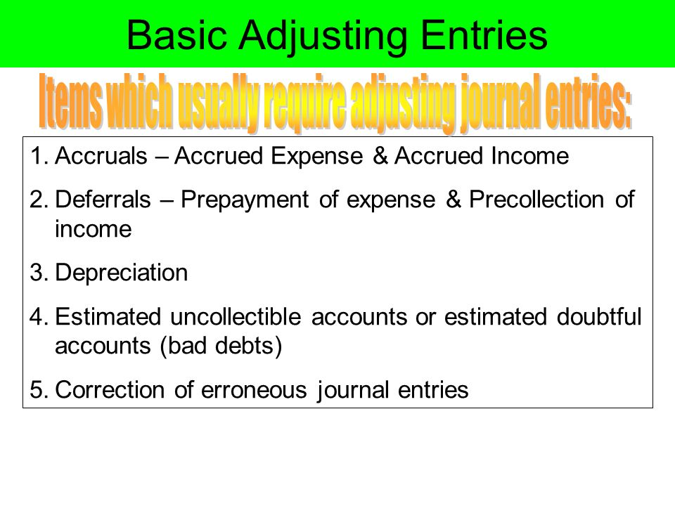 NOTE: Steps 1 to 10 is the ACCOUNTING CYCLE. - ppt video ...