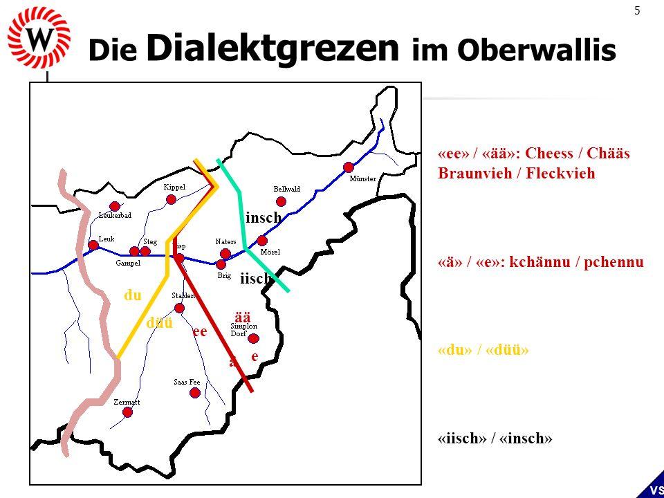 Die Dialektgrezen im Oberwallis