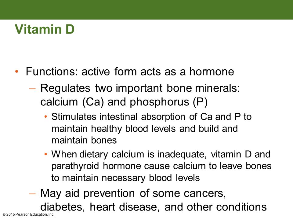 Vitamin d as hormone