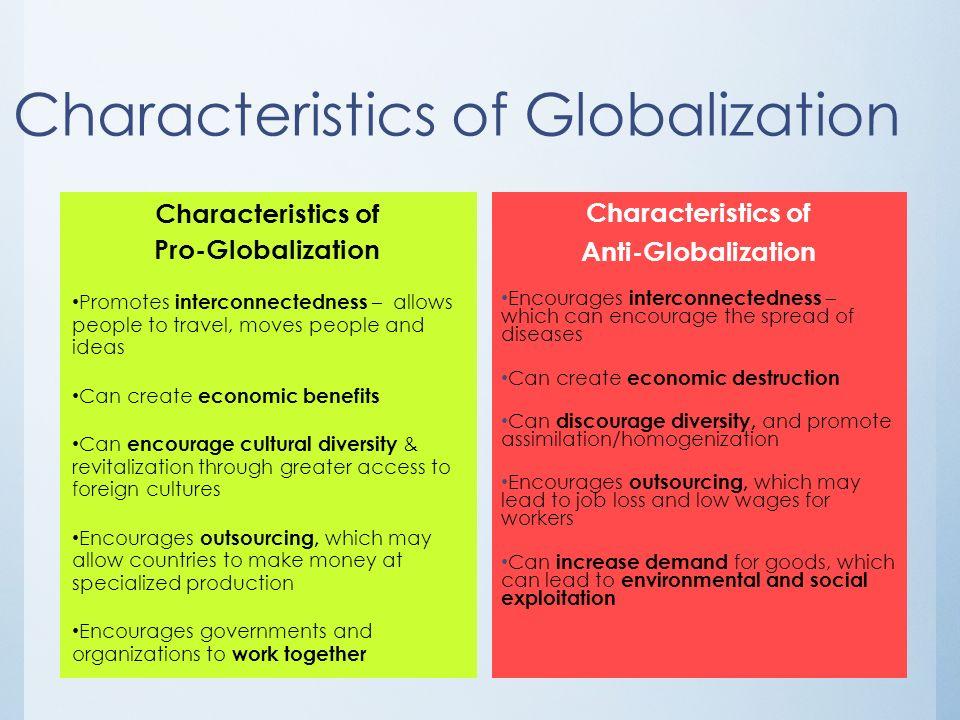 Globalization affects culture essay