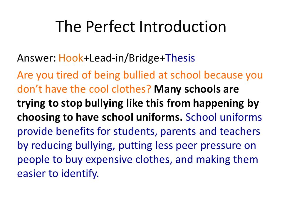 peer pressure thesis introduction Secret tips on creating a cause and effect essay on peer pressure  first is  the introduction, second is the main body and third is the introduction.