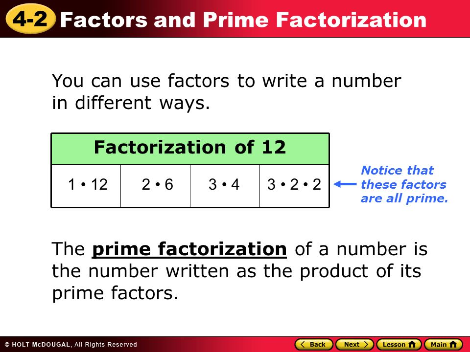 Square Root by Prime Factorization Method