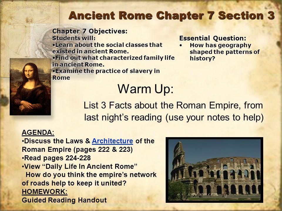 ancient rome chapter ppt video online download. Black Bedroom Furniture Sets. Home Design Ideas