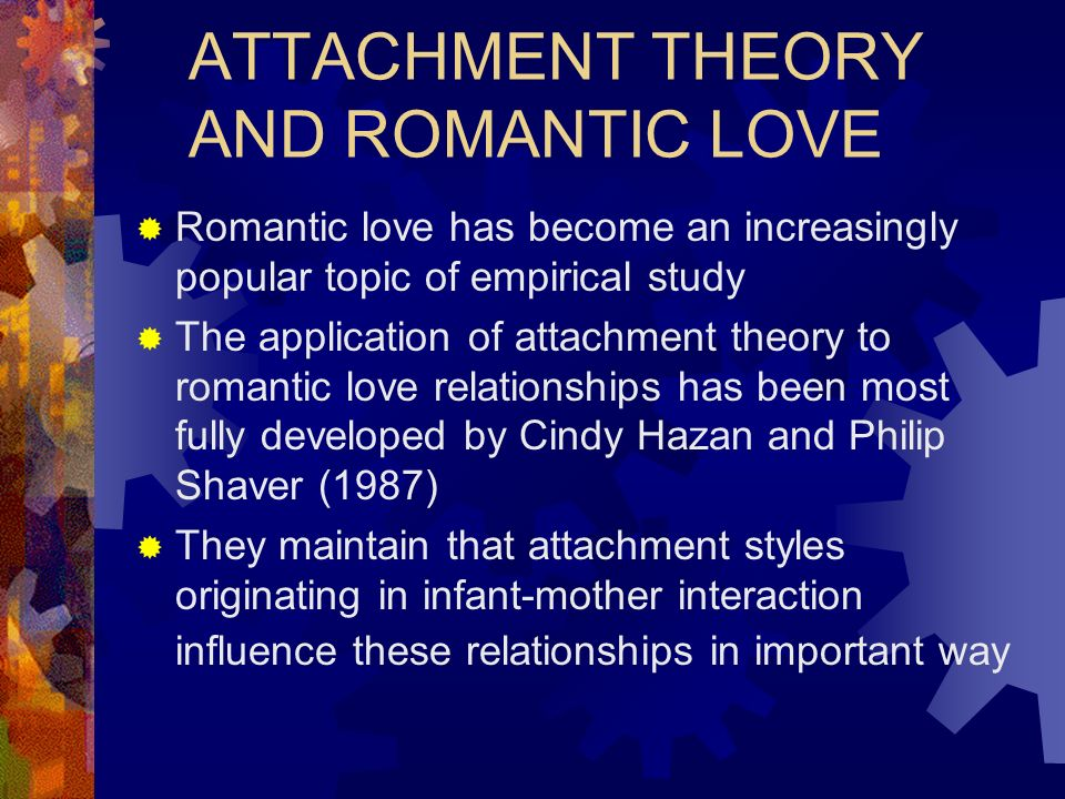 the influence of attachment styles and The influence of adult attachment style and advertising appeals on consumer brand attachment and measures of advertising effectiveness.
