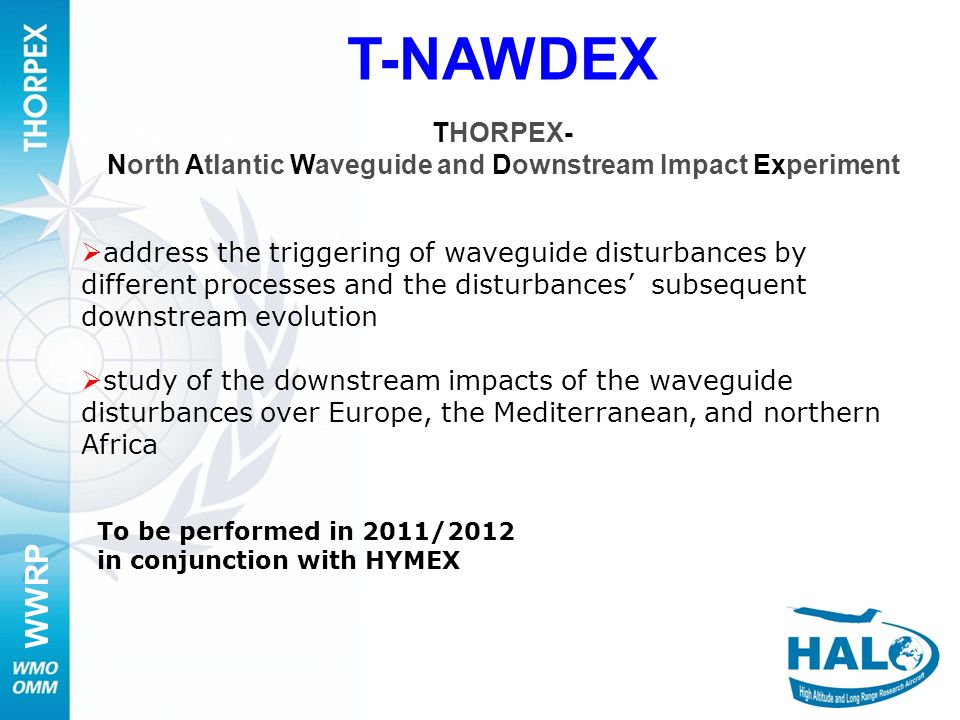 North Atlantic Waveguide and Downstream Impact Experiment