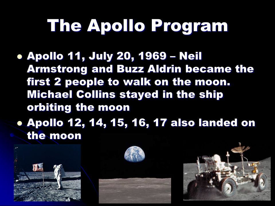 The Apollo Program