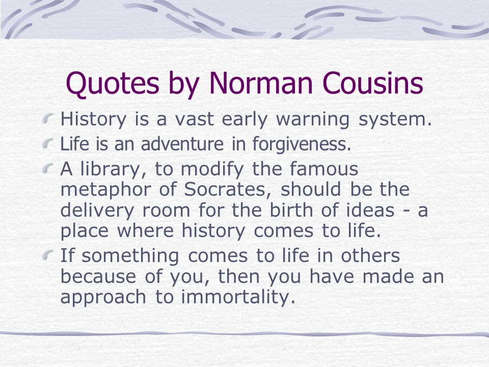 Old Fashioned Norman Cousins Anatomy Of An Illness Summary ...