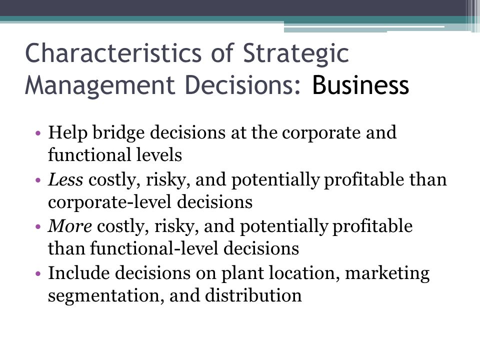 the planning modes of strategic decision making superior to the entrepreneurial and adaptive modes Scholars have prescribed formal strategic management modes, but the  journal  of innovation and entrepreneurshipa systems view across time and space2015  4:4  they found that levels of strategic planning are higher in smes  of  adaptive decision-making and its potential significance in strategy.