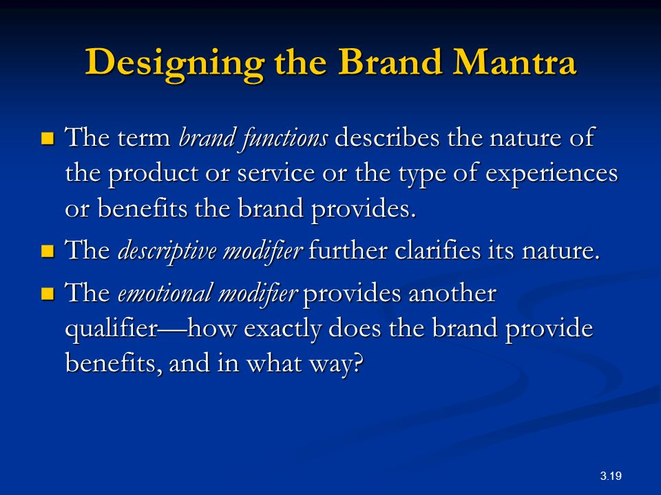 functions a brand provides for the firm In marketing, brand management is the analysis and planning on how that brand  is perceived  brand management is a function of marketing that uses special  techniques in order to increase the perceived value of a product (see: brand  equity)  in consumer culture, in which brands provide social status and  stratification.