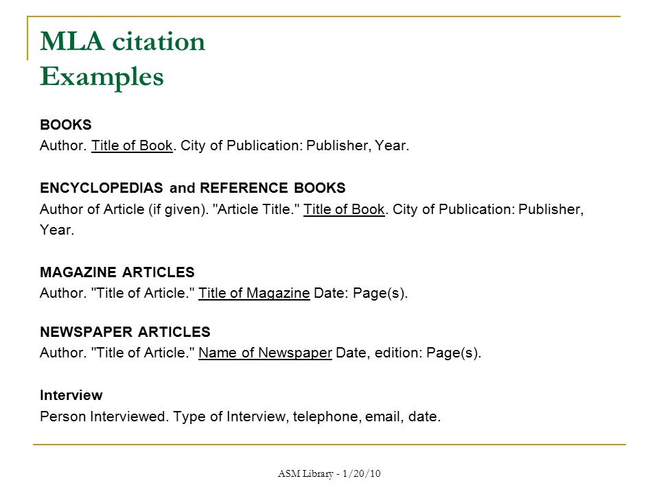 "mla book citation format This is a basic guide to citing references for a ""works cited"" page for typical  books and journal articles the formats are based upon the mla handbook for."