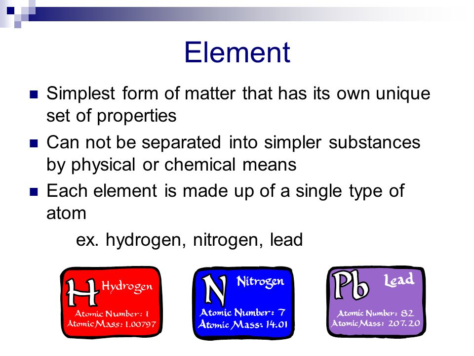 Unit 2 Lesson #1 Types of Matter - ppt video online download