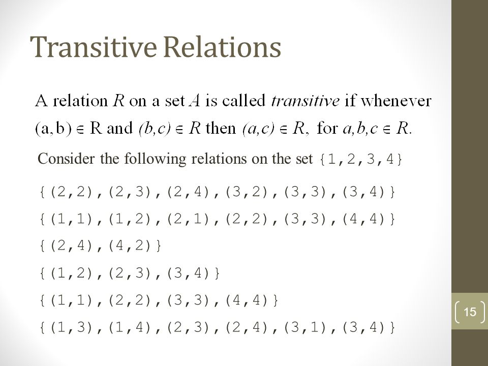 Relations And Their Properties Ppt Video Online Download
