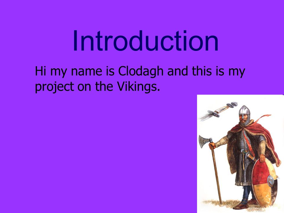 an introduction to the history of the vikings The vikings were a people whose history stretched from the vinland settlements  in  course you will also study in great detail the origins of the vikings' ancient  germanic religion  archaeology: an introduction to the world's greatest sites .