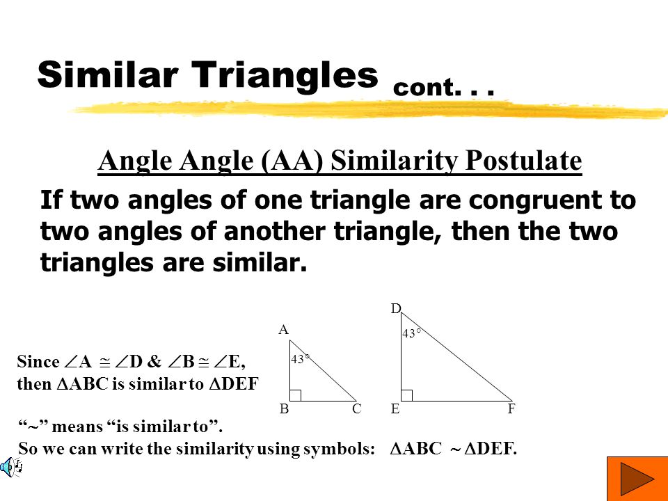 Similar Triangles Tutorial 12g Ppt Video Online Download