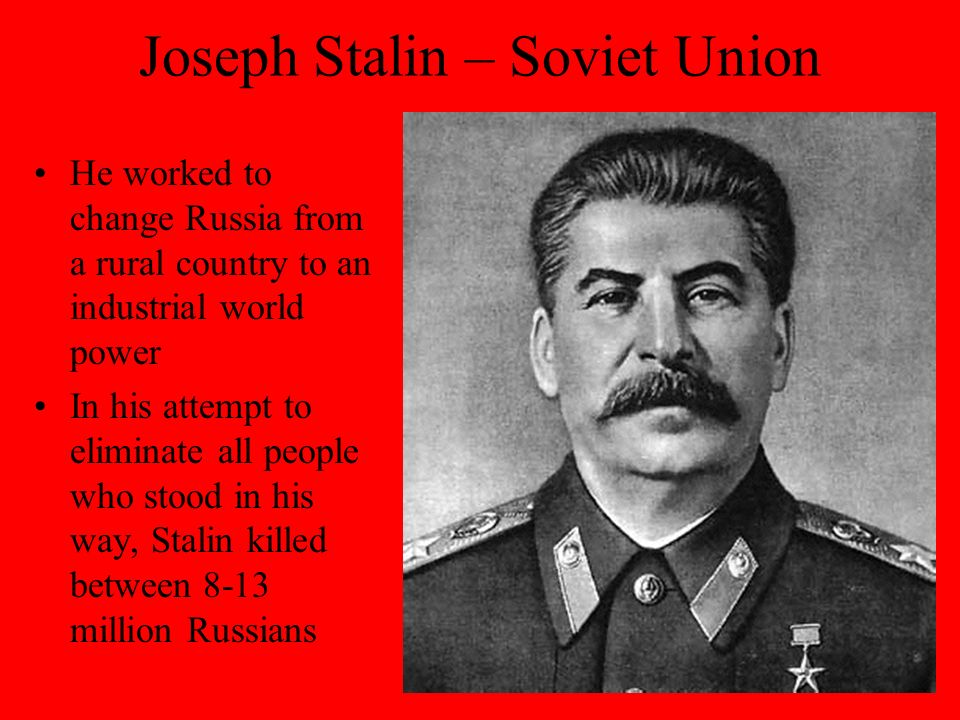 How did stalin transform the russian
