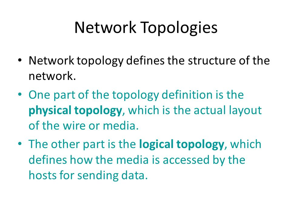 Chapter2 networking fundamentals ppt video online download 13 network topologies sciox Image collections