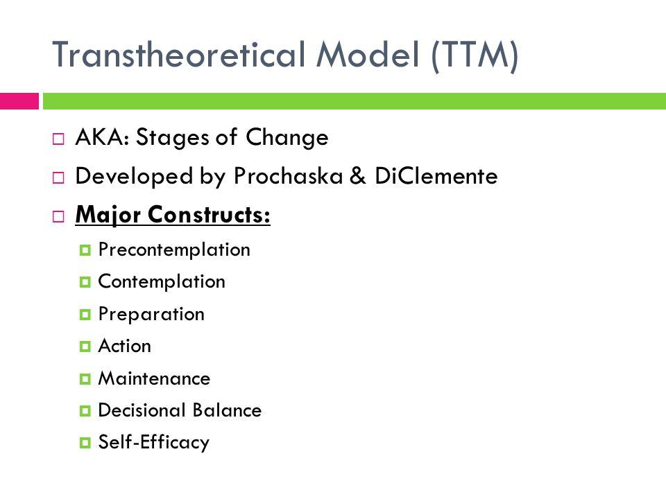 transtheoretical model of change pdf