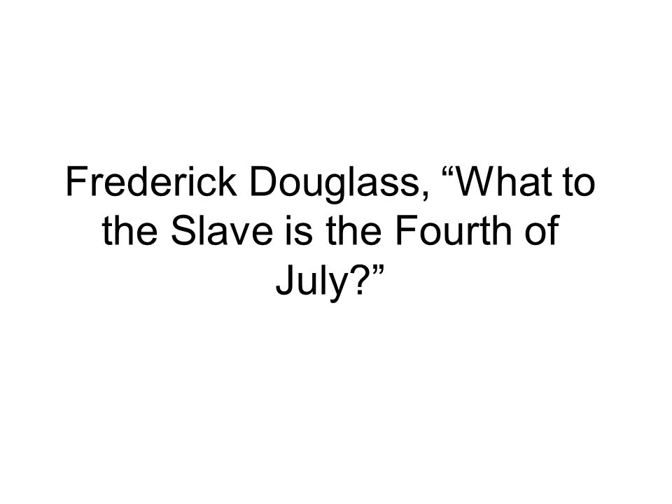 comparasion of frederick douglasss 4th of Booker t washington (1856-1915) was one of the most influential (and the lack of social equality like his critics, frederick douglass and web du bois.