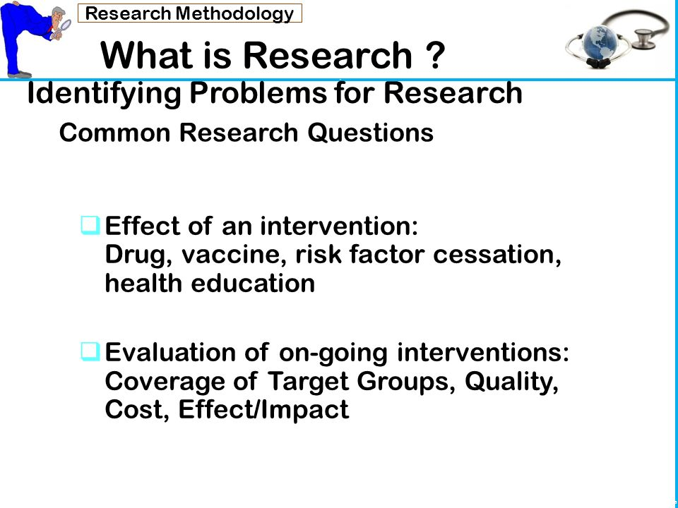 what are the research methodology