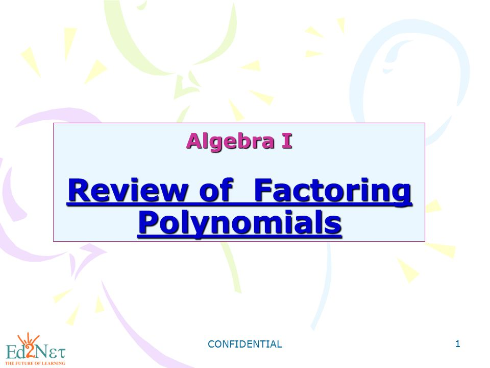 algebra 1 review polynomials Id: a 1 algebra 2 honors chapter 6 test review answer section multiple choice 1 ans: d pts: 1 dif: l2 ref: 5-2 polynomials, linear factors, and zeros.