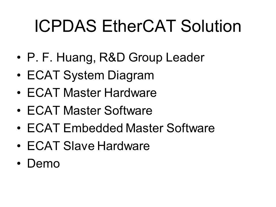ICPDAS EtherCAT Solution