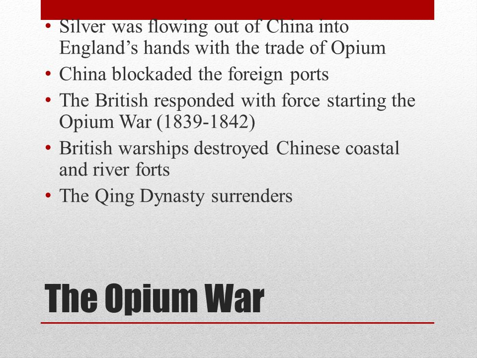 opium trade in china in the 18th century The opium wars arose from china's attempts to suppress the opium trade foreign traders (primarily british) had been illegally exporting opium mainly from india to china since the 18th century, but that trade grew dramatically from about 1820.