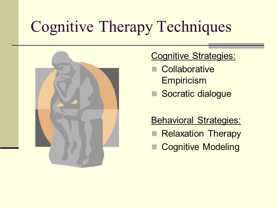 cognitive behavior theory Cognitive therapy was developed by american psychiatrist aaron t beck it is a therapeutic approach that is used to deal with problems relating to cognitive behavior.
