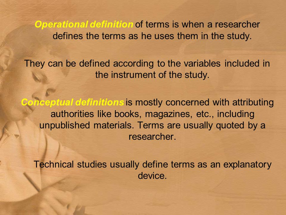 write definition terms research paper This handout provides detailed information about how to write research papers including discussing research papers as a genre, choosing topics, and finding sources.