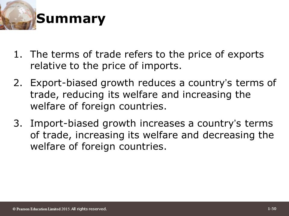 Terms of Trade - definition
