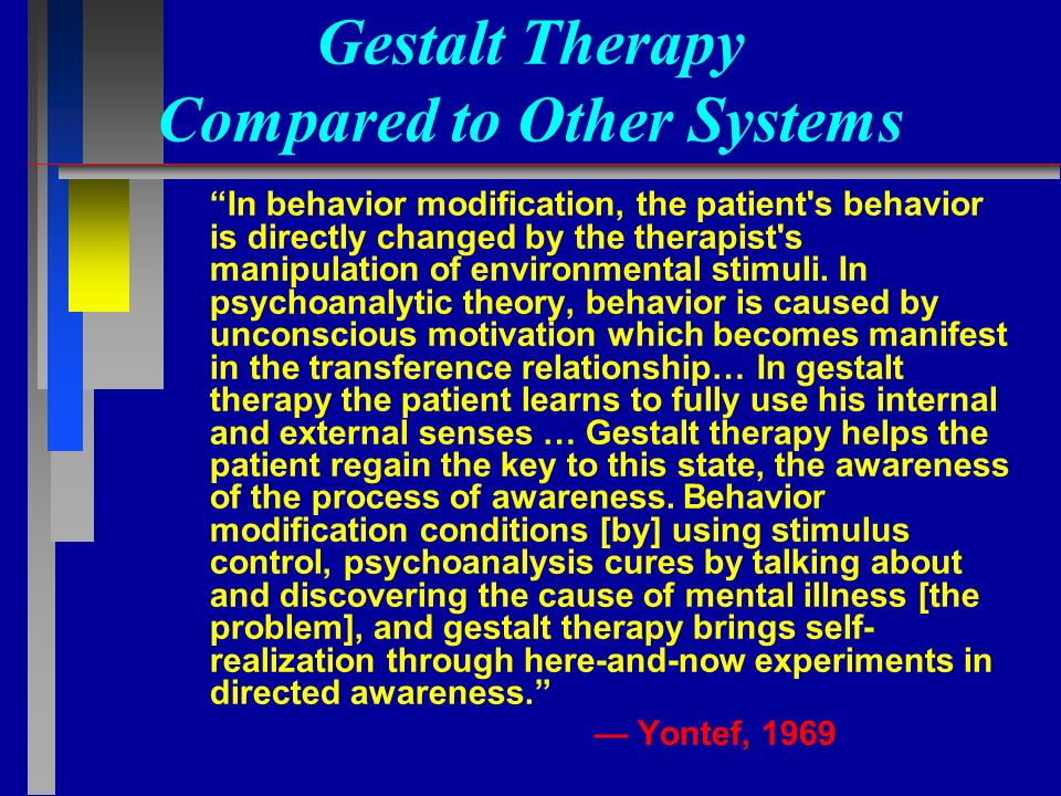 compare person centred and gestalt therapy I wish to thank peter schmid and georges wollants, who sent me their own  recent bibliographical data (on client-centered and gestalt psychotherapy.