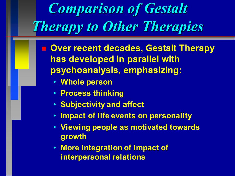 what are the main influences on gestalt psychology Gestalt psychology reflectionpsy/310 history and sytems in psychology katrin ramos one of the main influences on gestalt psychology was the strength of the behaviorist revolution and its.