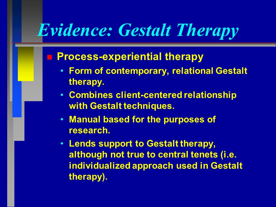 GESTALT THERAPY Slides created by Barbara A. Cubic, Ph.D ...