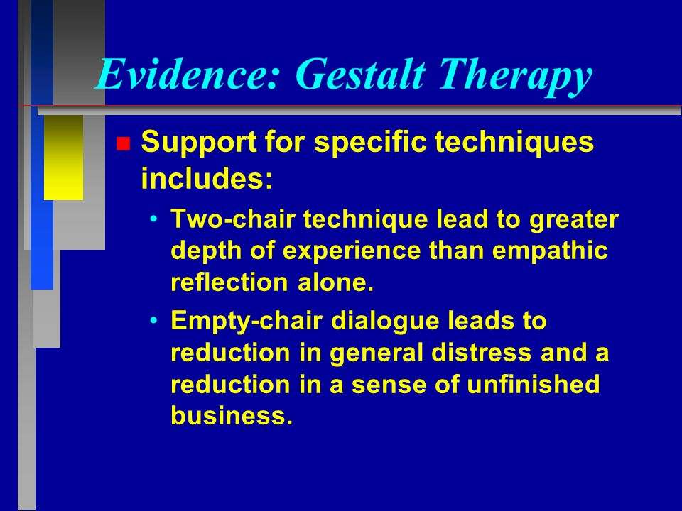 Client-centered Therapy vs. Gestalt Therapy