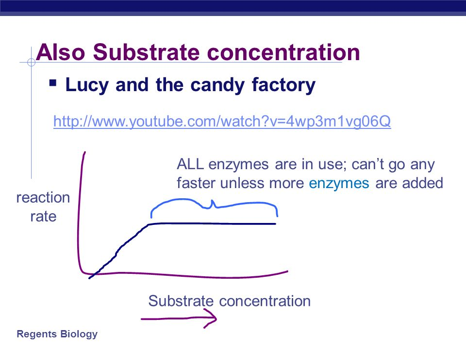 Also Substrate concentration
