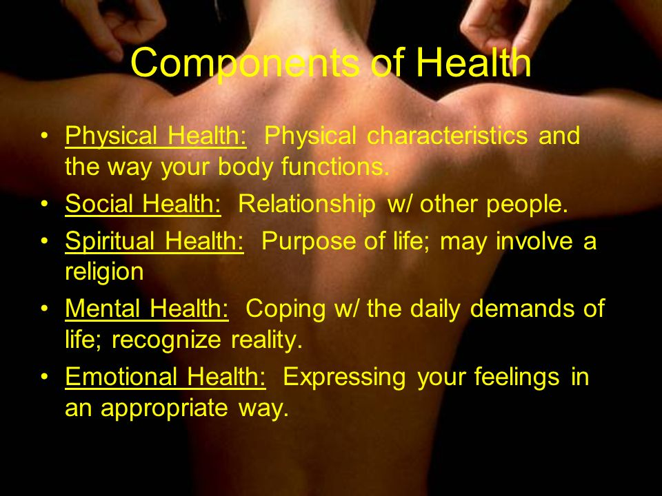 Healthy personality development and well-being