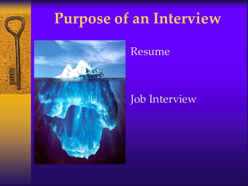 purpose of an interview Use this interview checklist to make sure you are ready for your job interview be well prepared and stand out as a confident and professional job candidate.