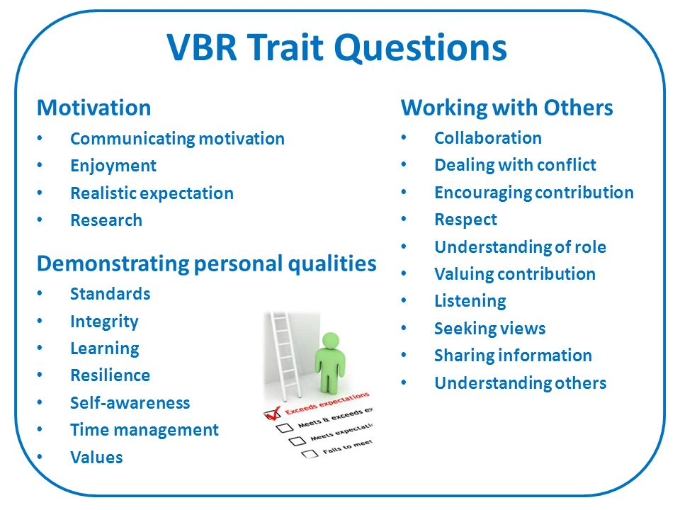 values based recruitment vbr ppt