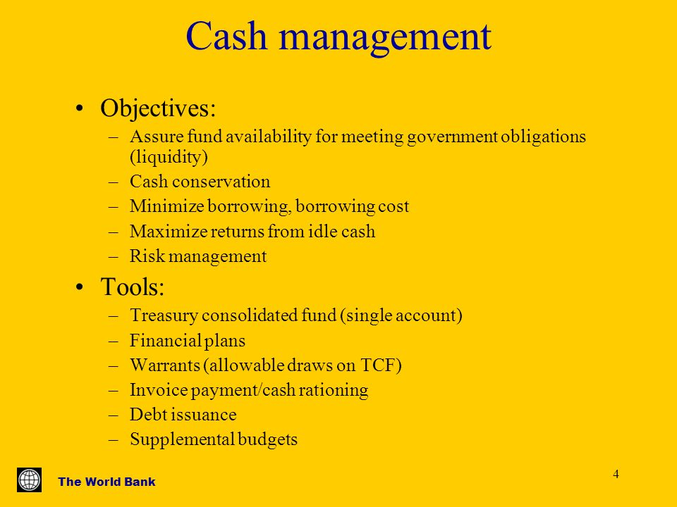 objectives in cash management [pdf] cash mgmt book new - financial manageme mba answer sunday, april 5, 2009 what are the objectives of cash management answer cash management =).