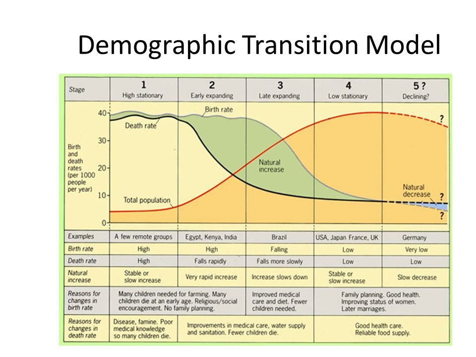 the demographic transition model analysis Start studying demographic transition learn vocabulary, terms, and more with flashcards, games, and other study tools.