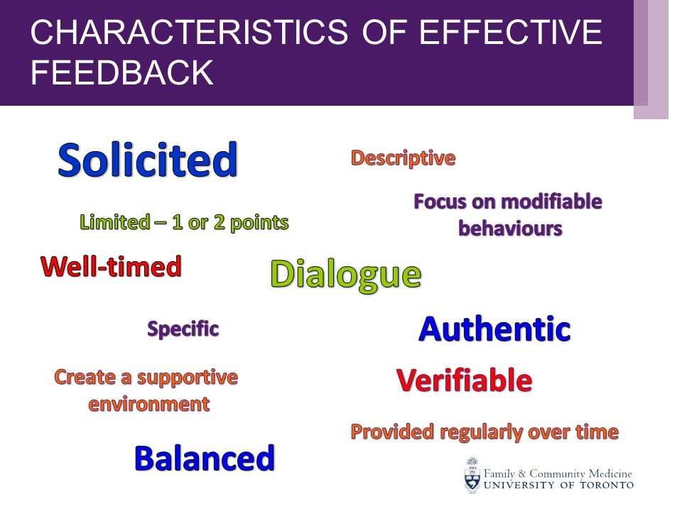 examples of effective and ineffective feedback in education Giving effective student feedback  giving student feedback:  learn more about how to progress in your teaching career with an online certificate in education.