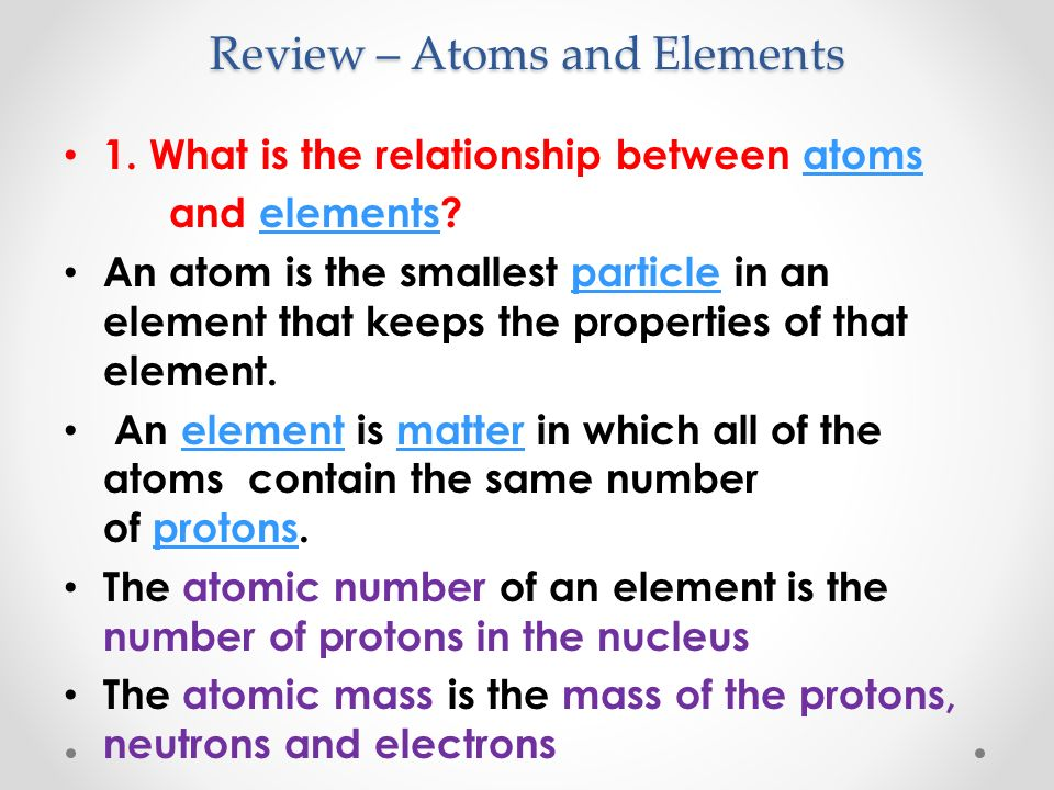 what is the relationship between atomic number protons and electrons