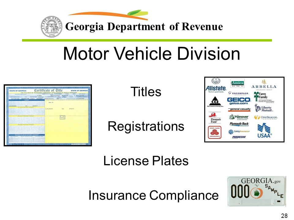 georgia department of revenue motor vehicle