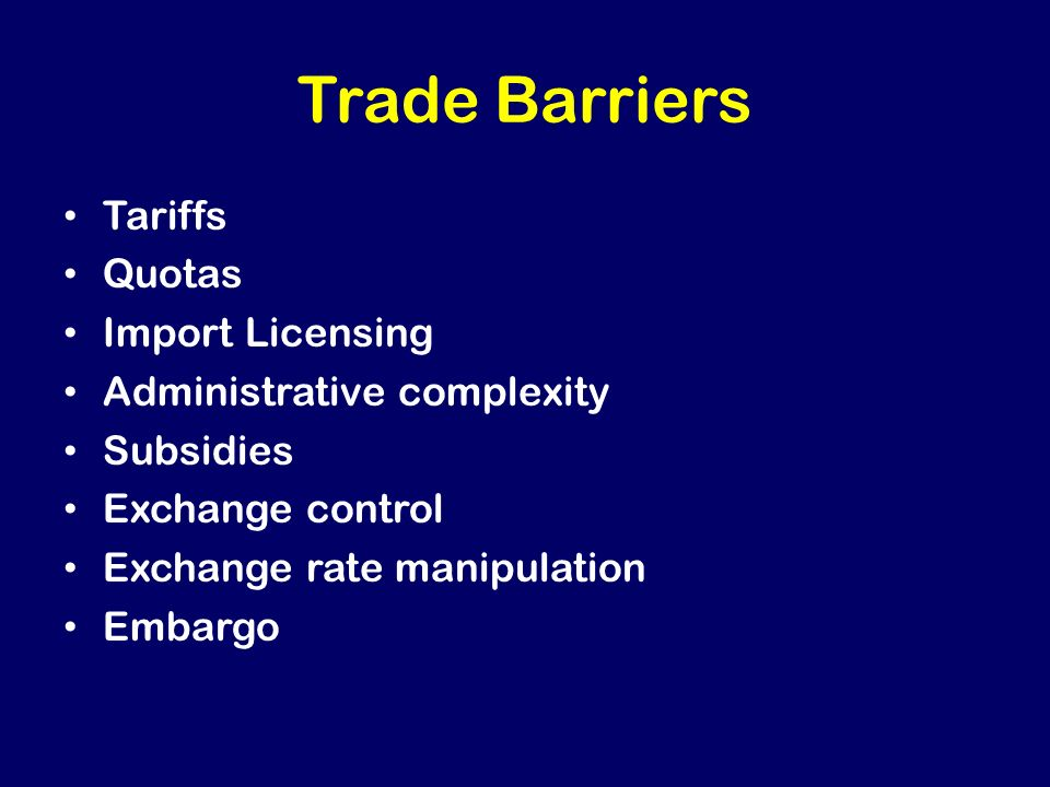 Cons of Protectionism