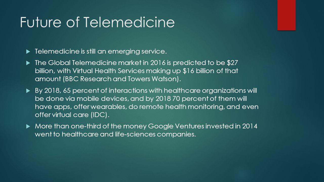 Is Telemedicine A Realistic Way Of Providing Medical Care