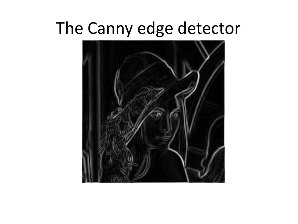 thesis on canny edge detection Edge detection methods in digital image processing technology essay print and do not necessarily reflect the views of uk essays canny edge detector.