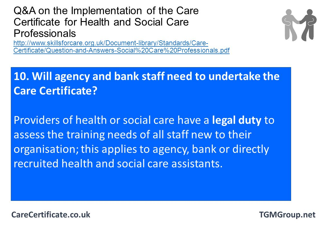 implementing duty of care in health and social care essay Principles for implementing duty of care in health, social care or children's and young people's settings by gaël romanet task 2 know how to address conflicts or dilemmas that may arise between an individual's rights and the duty of care.
