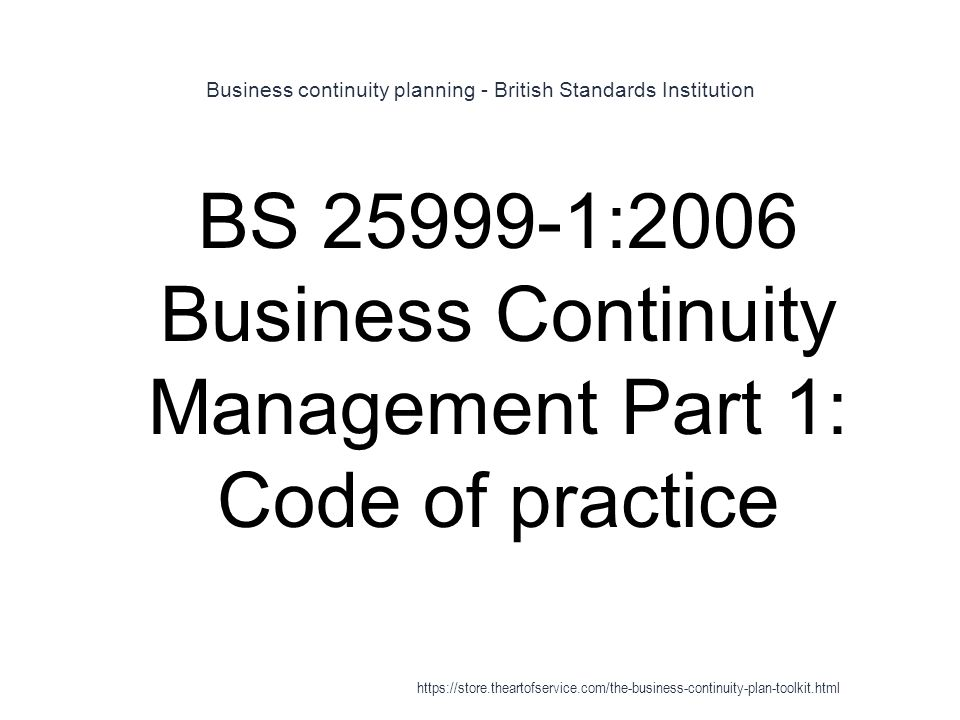 A Guide to Business Continuity Planning book by James C ...