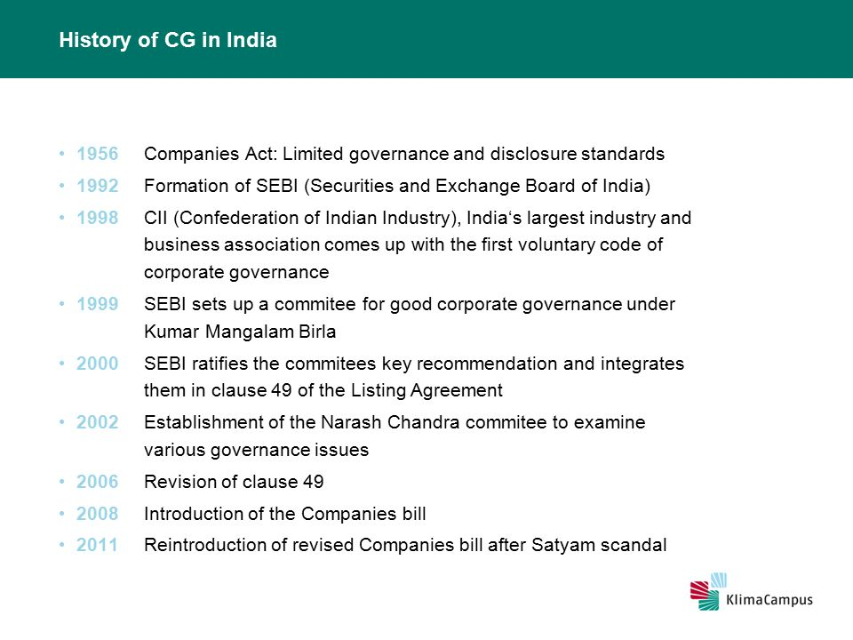 Corporate Governance In India - Ppt Video Online Download